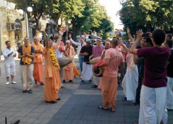 Фестивал на Кришна в Бургас