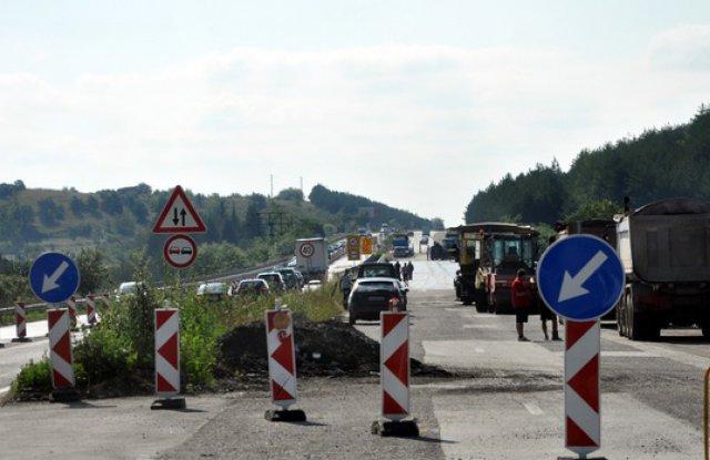 Ето къде ще има ремонт на магистралата днес