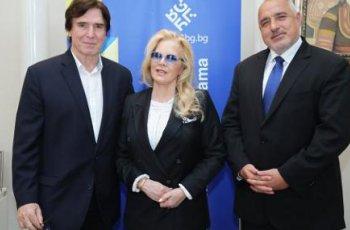 Бойко Борисов посрещна Силви Вартан в МС