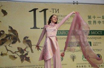 Гимназистката Лора става звезда в Китай