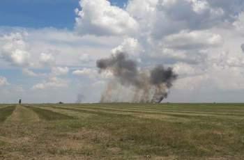 Румънски МиГ-21 се разби на авиошоу