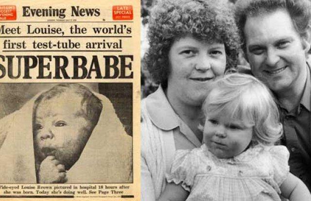 Първото ин витро бебе се ражда преди 40 години