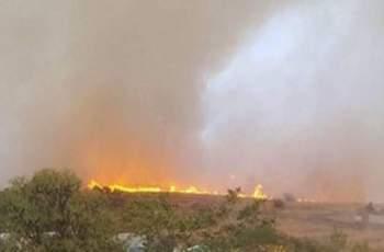 Голям пожар вилнее до Бургас