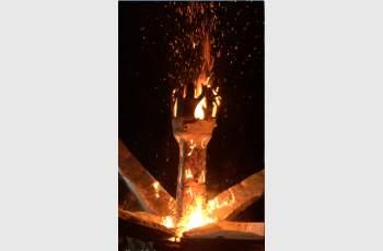 Горяща скулптура показаха наши художници в Ялта