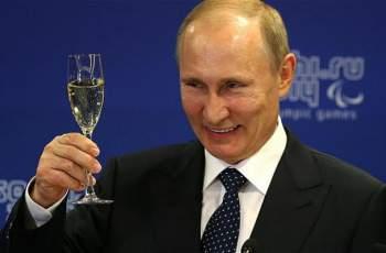 ЧРД, Путин! Вижте как празнува президентът на Русия