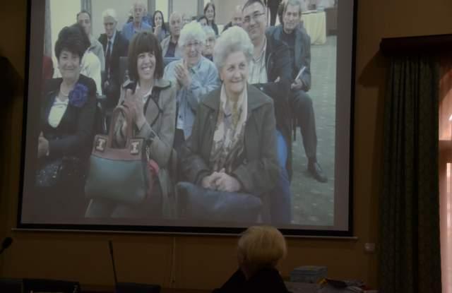 На екрана беше прожектиран филм с кадри от церемонията по връчването на Том 1 от 2014 г.
