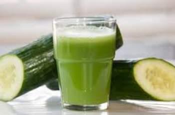 Пийте сок от краставица за силен имунитет