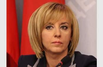 Компенсации заради цената на тока иска Мая Манолова