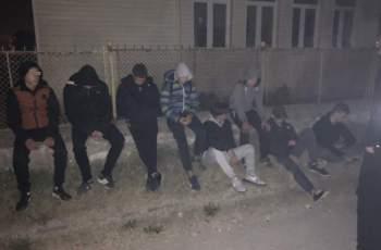Натръшкаха банда тийнейджъри в Труд