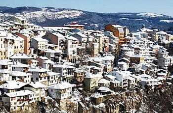 Снегът дойде в един от големите ни градове