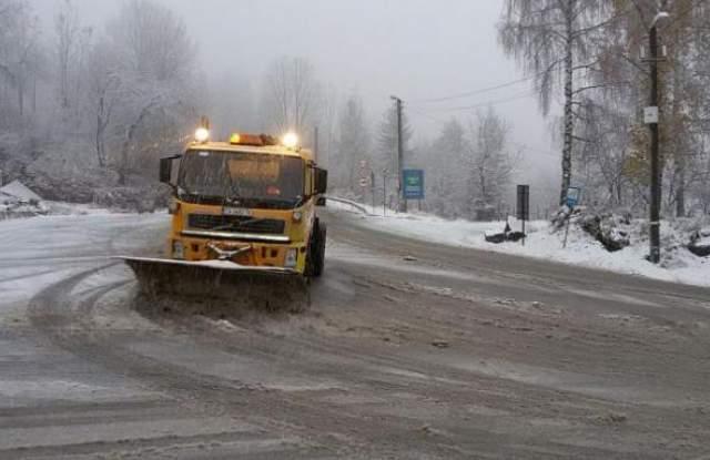 Първи сняг - първи затворени пътища