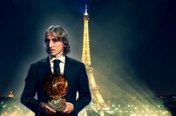 Лука Модрич триумфира със Златната топка