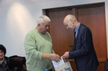 Добри Беливанов се срещна с почетните граждани на Хасково