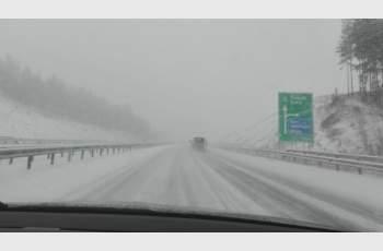 Половин България - в зимен капан (ОБЗОР) СНИМКИ и ВИДЕО