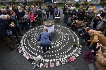 Ексхумират 796 трупа в Ирландия