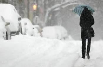 Студ, сняг и затворени пътища в Гърция