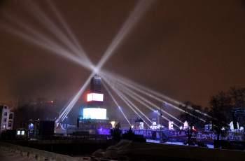 Кулата омайва Пловдив със светлинни ефекти! СНИМКИ