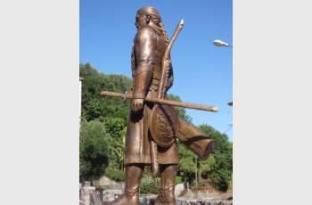 Вдигнаха паметник на българския кан Алцек в Италия