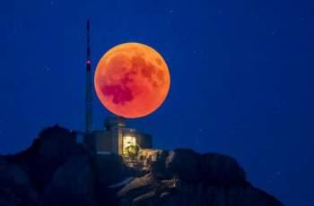 Небето ще се проясни за първото лунно затъмнение за 2019