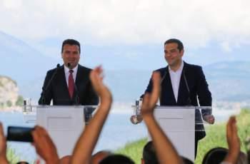 Брюксел обяви Заев и Ципрас за герои