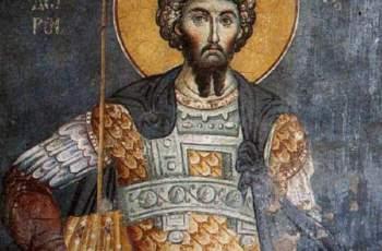 Църквата чества Свети Теодор Стратилат