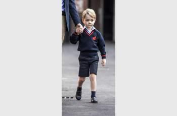 Принц Джордж издаде забавна тайна от кралския двор