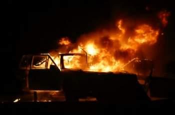 """Късо съединение подпали 3 коли в """"Тракия"""""""