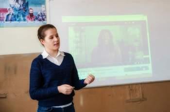 Балерина гостува в училището в Паталеница