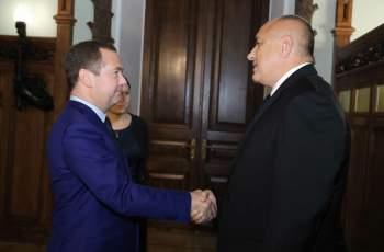 Дмитрий Медведев идва на среща с Борисов на 4 март
