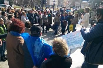 Медици протестираха в Пазарджик, искат още оставки