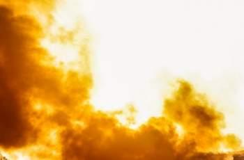 Огнена стихия: Пожар в склад за палети