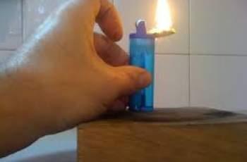 Пиян китаец глътна запалка, едва не се взриви