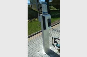 Монтираха зарядни станции за електромобили в Димитровград