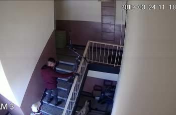 Вижте как тези крадат от жилищни сгради
