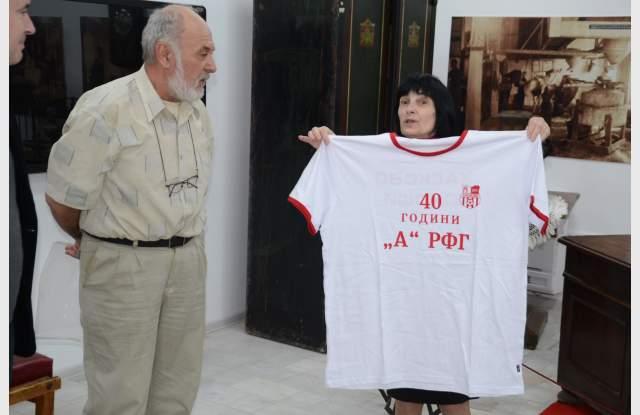 Алманах събра цял футболен отбор легенди в музея