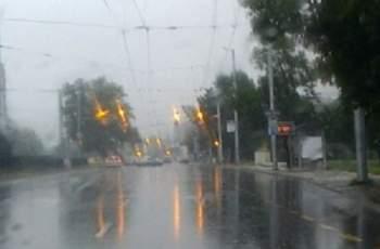 Дъждът в Пловдив удави умните светофари