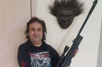 Мъжът, заплашил Борисов с разстрел, пострада при пожар