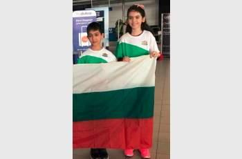 Триумф! Виктор и Димана със злато от олимпиада в Тайланд