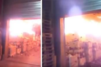 Нов огнен ад във Франция! Щетите са за милиони
