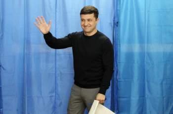 Шоумен е новият президент на Украйна