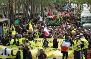 """42 задържани на протестите на """"жълтите жилетки"""" в Страсбург"""