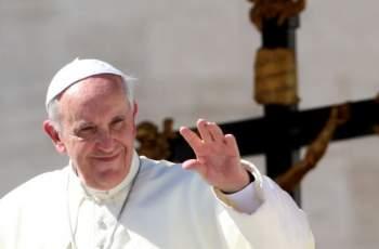 Папа Франциск пристига на посещение у нас