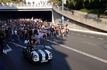 Хиляди фенове посрещнаха трабанта на Локото СНИМКИ и ВИДЕО