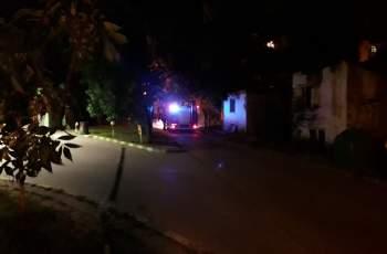 """Първо в """"Марица"""": Пожар избухна срещу бензиностанция ВИДЕО"""