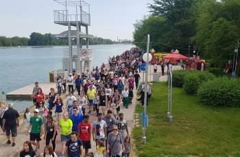 Над 1000 души участваха в първия Фестивал на пешеходеца