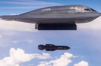 """Бомбардировач B-2 пусна зловещо """"послание"""" към враговете на САЩ"""