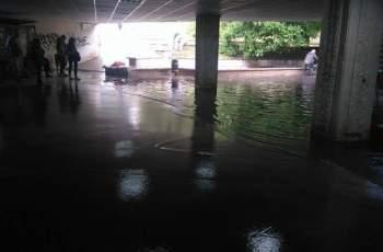 Мъртвец изплува от наводнен подлез след пороя в Пловдив