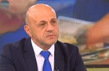 Томислав Дончев с първи коментар за нападката на Сидеров