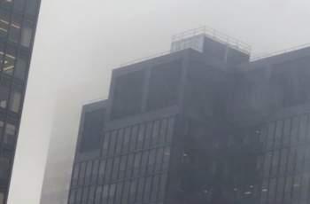 Хеликоптер се заби в сграда на метри от Таймс Скуеър НА ЖИВО