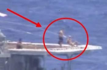 САЩ заснеха нещо изумително на руски кораб ВИДЕО